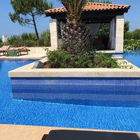 Photo taken at Romanos Costa Navarino Pool by Akis T. on 6/9/2017