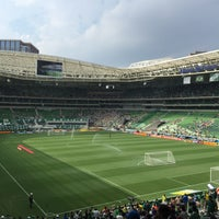 Photo taken at Allianz Parque by Roberto S. on 2/8/2015