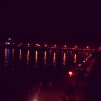Photo taken at Sabarmati River Front by Ashish M. on 2/3/2013