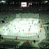 Photo taken at Arena Ice Fever 2012 by Kristijan V. on 1/18/2013