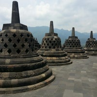 Photo taken at Borobudur Temple by Ady L. on 3/23/2013