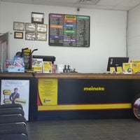 Photo taken at Meineke Car Care Center by Eileen V. on 8/3/2013