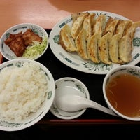 Photo taken at 日高屋 杉戸高野台店 by sumomomelon on 1/3/2014