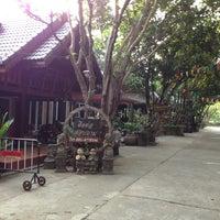 Photo taken at สวนอาหารบ้านล้อเกวียนรีสอร์ท by Soifa ^. on 3/13/2013