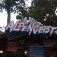 Photo taken at Alpengeist - Busch Gardens by Chuck S. on 6/10/2013