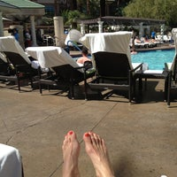 Photo taken at Four Seasons Hotel Las Vegas Pool by Alison C. on 5/11/2013