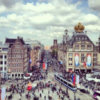 Photo taken at Dam Square by Anton E. on 5/2/2013
