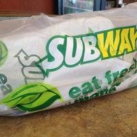 Photo taken at Subway by Gabriella H. on 5/25/2013