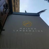 11/1/2016 tarihinde Farouk T.ziyaretçi tarafından Maison Landemaine'de çekilen fotoğraf