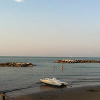 Photo taken at Spiaggia di Cattolica by Dolce M. on 8/24/2013