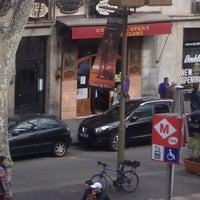 Photo taken at Hostal Mare Nostrum Barcelona by Mendeburcadı Ö. on 3/12/2015