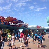 Photo taken at SeaWorld Annual Passport Member Entrance by dilekderin D. on 5/1/2015