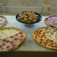Photo taken at New York Style Pizza by Jerry E. on 7/9/2014