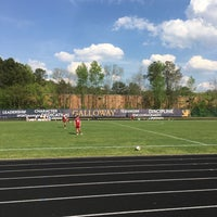 Photo taken at Galloway Athletic Complex by Ed G. on 4/11/2017