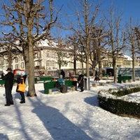 Photo taken at Münsterplattform by Nick L. on 12/2/2012