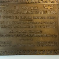 Photo taken at New York Public Library - Andrew Heiskell Braille & Talking Book Library by Paul E. on 1/3/2015