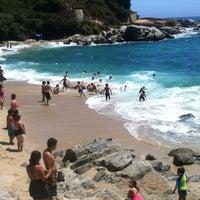 Photo taken at Playa Las Conchitas by Jorge Antonio T. on 2/13/2013