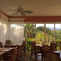 Photo taken at Roayl Palms Breakfast Porch by Mike M. on 2/25/2015