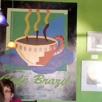 Photo taken at Cafe Brazil by Elle N. on 1/30/2013