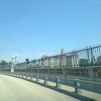 Photo taken at Colorado Street Bridge by K B. on 7/4/2013