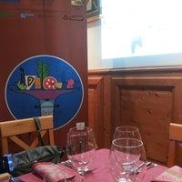Photo taken at Trattoria la Taverna by Patrizia L. on 7/18/2014