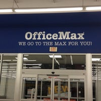 Photo taken at OfficeMax by Jayne S. on 11/4/2013