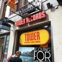 Photo taken at Tower Records by Elizabeth on 8/1/2013