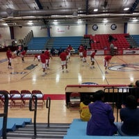 Photo taken at Memorial Hall Gym by Delilah B. on 1/23/2013