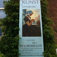 Photo taken at Het Noorderlicht by Jim S. on 6/8/2013