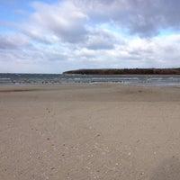 Photo taken at Fish Creek Beach by Carl T. on 11/23/2012