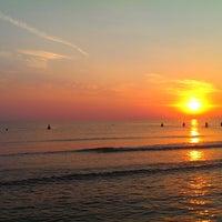 Photo taken at Liepājas pludmale / Liepaja Beach by Didzis G. on 8/4/2014
