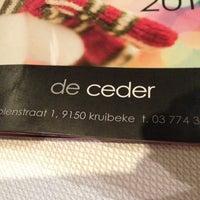 Photo taken at Restaurant De Ceder by N1k0 V. on 12/22/2012