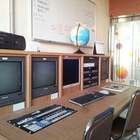 Photo taken at 창원문성고등학교 방송실 by Yoonsang S. on 3/18/2013