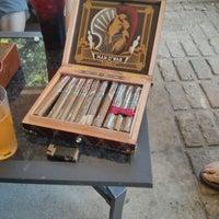 Photo taken at Elite Cigar Cafe by Steve K. on 6/29/2013
