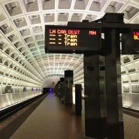 Photo taken at Capitol South Metro Station by Rebecca S. on 2/17/2013