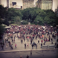 Photo taken at Union Square Park by Harry W. on 5/25/2013