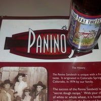 Photo taken at Panino's Restaurant by Will G. on 10/29/2012