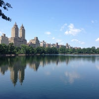 Photo taken at Jacqueline Kennedy Onassis Reservoir by Jenny S. on 6/14/2013