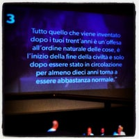 7/9/2014 tarihinde Marcoziyaretçi tarafından Auditorium Santa Margherita'de çekilen fotoğraf