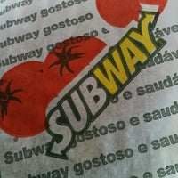 Photo taken at Subway by Willian R. on 1/30/2013