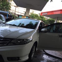 Photo taken at Caltex by Paninee A. on 11/3/2016
