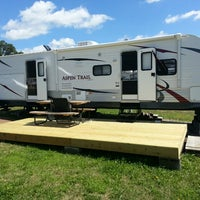 Photo taken at Westrich RV Park by Greg E. on 8/25/2013