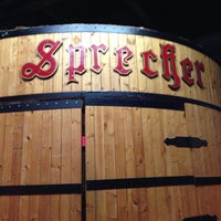 Photo taken at Sprecher Brewery by Tiffany L. on 12/15/2012