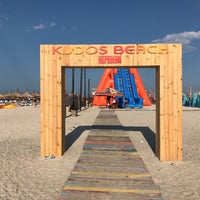 Photo taken at Kudos Beach by Vlad M. on 7/9/2017