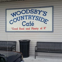 Photo taken at Woodsby's Countryside Cafe by Jean P. on 12/22/2014