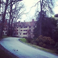 Photo taken at Winterthur Museum, Garden & Library by Brandon S. on 12/27/2012