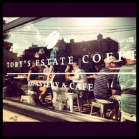 Photo taken at Toby's Estate Coffee by Carl J. on 9/22/2012