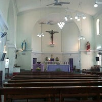 Photo taken at St. Augustine Church of Yangon by Sudarwanto S. on 2/14/2016