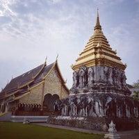 Photo taken at Wat Chiang Man by Deknarok S. on 5/5/2017
