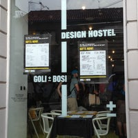 Photo taken at Goli + Bosi Design Hostel by William H. on 5/5/2013